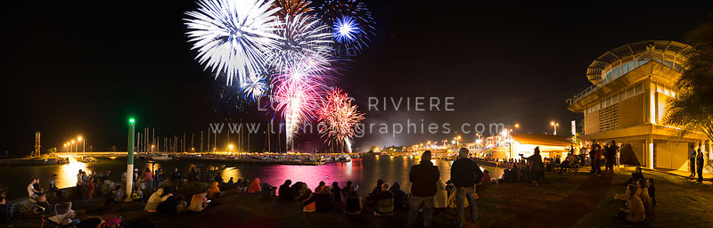 Feux d'artifice de la ville de Saint-Pierre