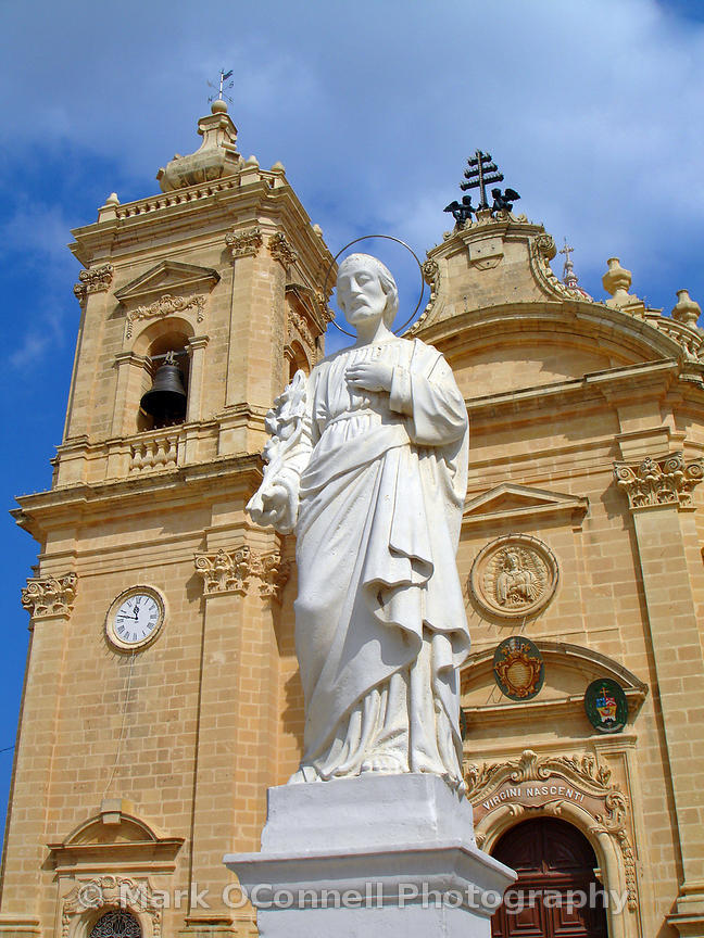 Nadur parish church Gozo 02