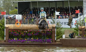 Izzy Taylor and THISTLEDOWN POPOSKI - Cross Country phase, Mitsubishi Motors Badminton Horse Trials 2014