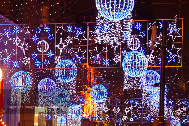 Birmingham Christmas Lights.Images Of Birmingham Photo Library The German Market In