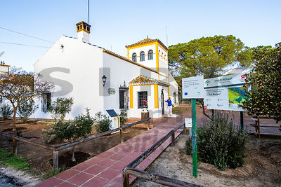 Las Rocinas visitor centre in Doñana National Park