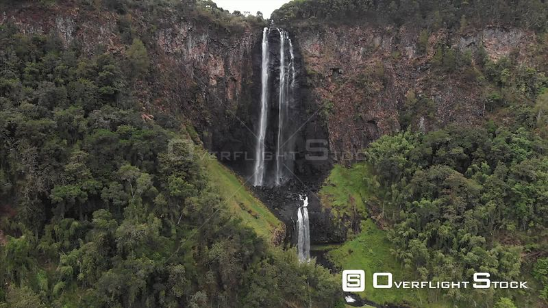 Waterfall in Aberdare National Park Kenya Africa