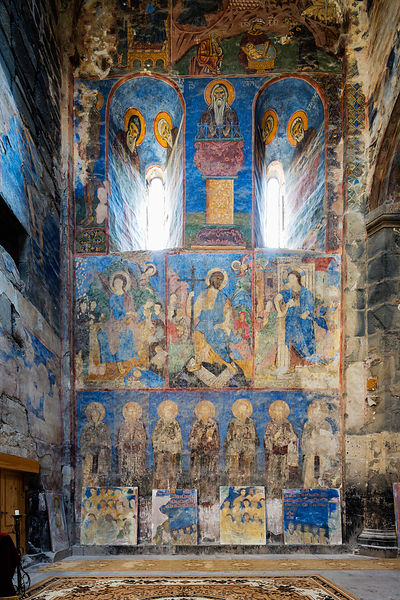Interior Frescoes of Akhtala Monastery