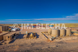 Oil Production Equipment and Frac Job