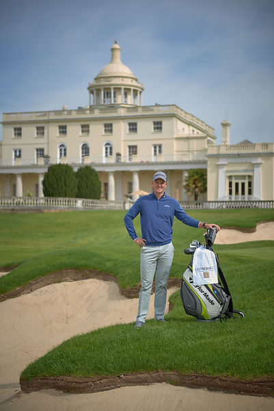 Justin Rose at Stoke Park with Glenmorangie