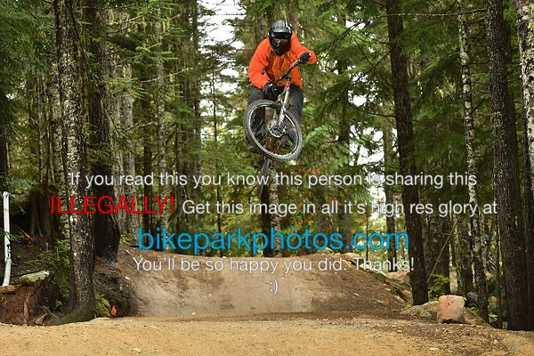 Sunday September 23rd Aline Double bike park photos