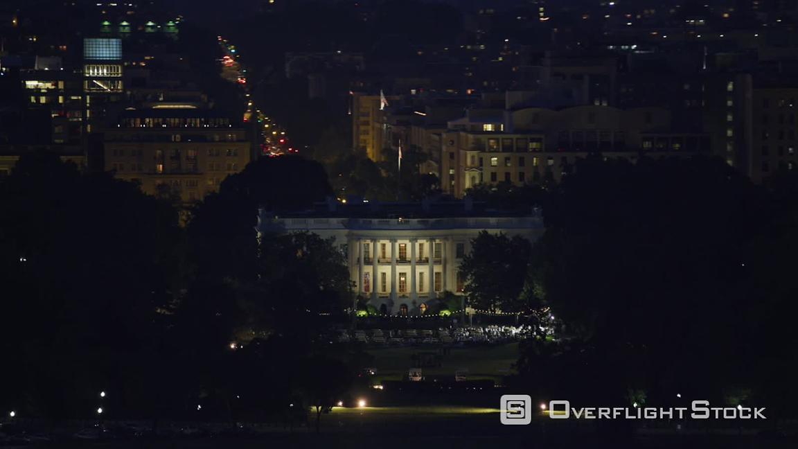 Overflightstock Washington D C Aerial View Of White House At