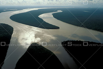 Islands in Amazon Estuary Brazil