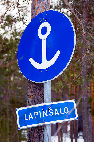Sign in Lapinsalo Camping Site