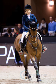Bordeaux, France, 2.2.2018, Sport, Reitsport, Jumping International de Bordeaux - . Bild zeigt Edwina TOPS-ALEXANDER (AUS) ri...
