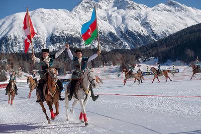Azerbaijan Land of Fire - Snow Polo 2019 - St.Moritz