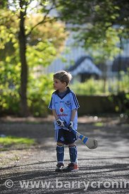 21st April, 2012. Castleknock GFC football nursery, Carpenterstown, Dublin. Pictured is Liam Ward one of 4 years old triplets...
