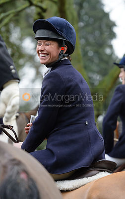 Harriet Rimmer at the meet at Buckminster