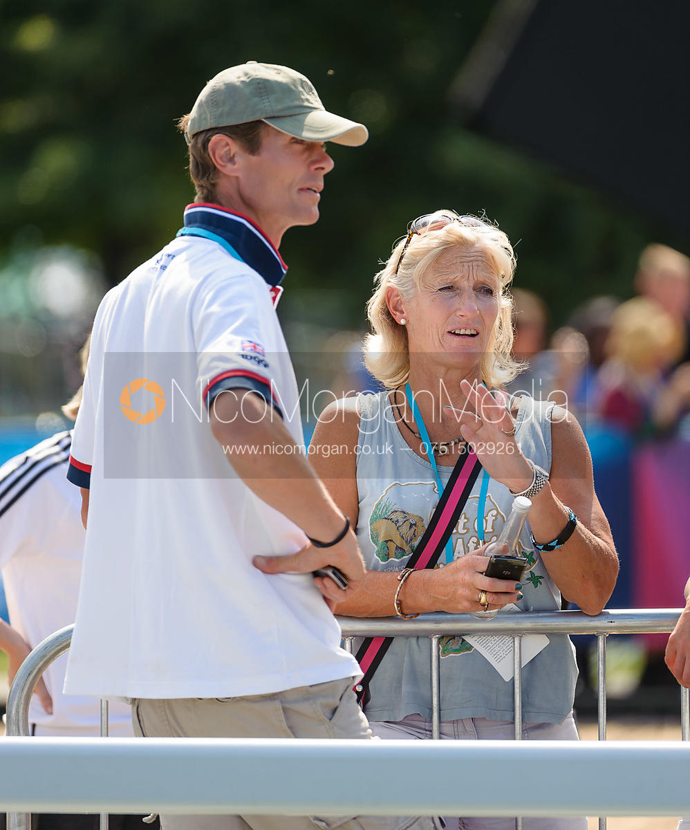 William Fox-Pitt and Lucinda Green - LOCOG Greenwich Park Olympic Test Event, July 2011