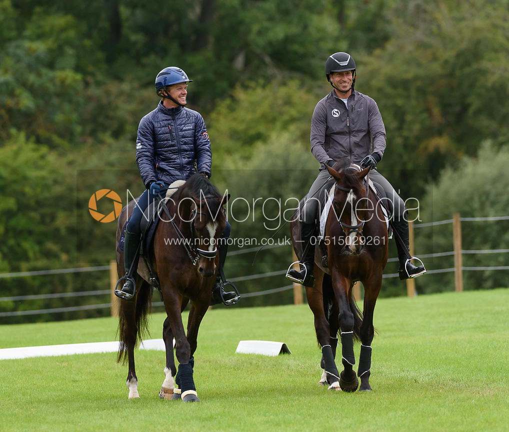 Ludwig Svennerstal and Tim Price, Land Rover Burghley Horse Trials 2017