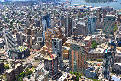 Highrises of Downtown Brooklyn New York