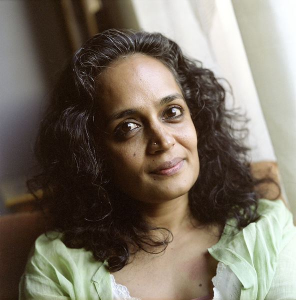 India - New Delhi - Arundhati Roy, author and activist