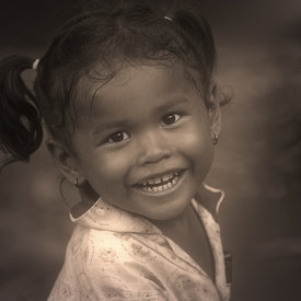"""Child at Banteay Srei - 3"""