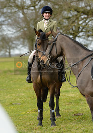 Alex Lee at the meet at Grimsthorpe Castle