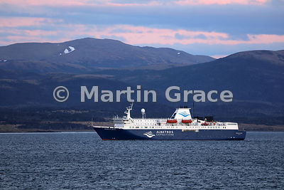 Albatros Expeditions vessel Ocean Atlantic, Beagle Channel, Tierra del Fuego, Argentina