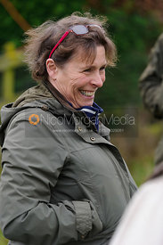 Etta Maddox-Wright at the meet - The Quorn Hunt at Markham House 21/12