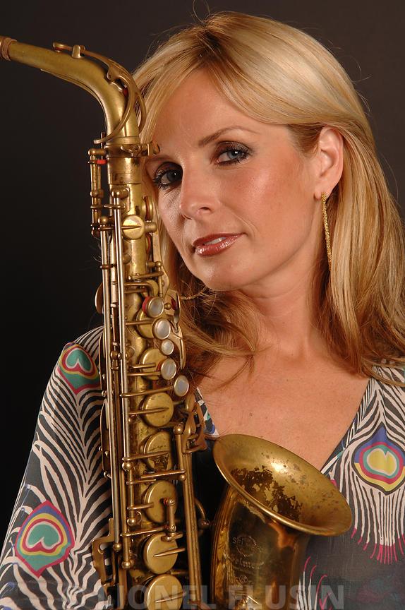 Lionel Flusin Photographe | Candy Dulfer au Montreux Jazz