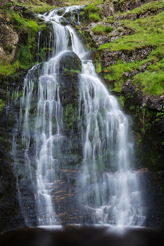 Moss Force Waterfall between Buttermere and Keswick
