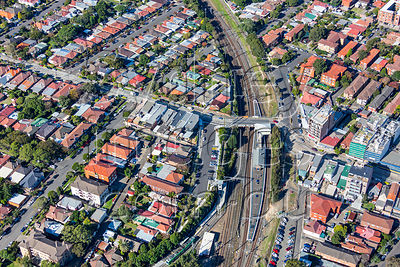 Dulwich Hill Aerial Photography