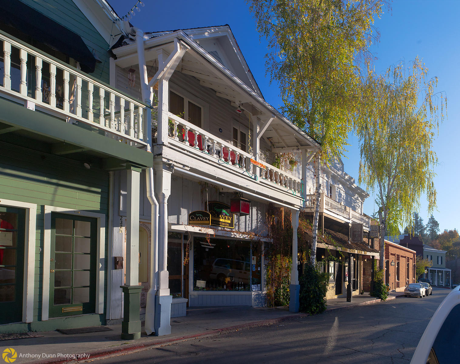 Early Morning in Nevada City #3