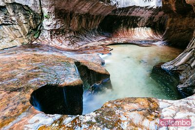 The Subway, Zion National park, Utah, USA