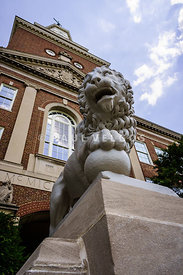 Mick Lion at McMicken Hall University of Cincinnati