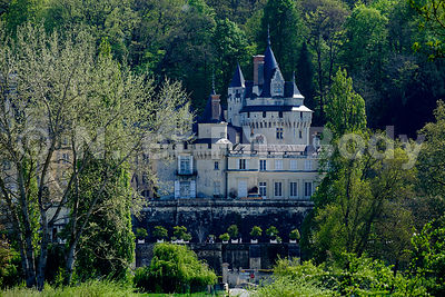 FRANCE, INDRE ET LOIRE, CHATEAU USSE // FRANCE, LOIRE VALLEY, CASTLE OF USSE