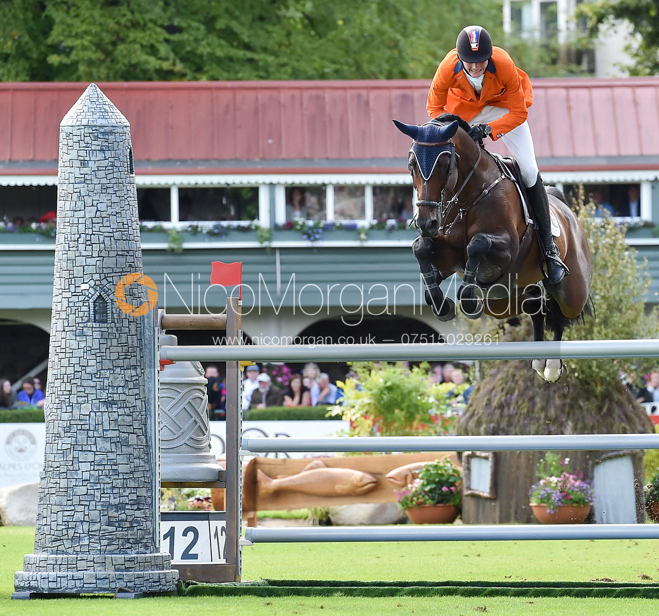 Frank Shuttert and CHIANTI'S CHAMPION - FEI Nations Cup, Dublin Horse Show 2017