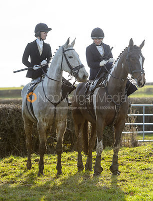 Amy Bryan-Dowell at second horses - The Cottesmore at Priory Farm