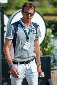 27/07/18, Berlin, Germany, Sport, Equestrian sport Global Jumping Berlin -   Image shows Harrie Smolders. Copyright: Thomas R...
