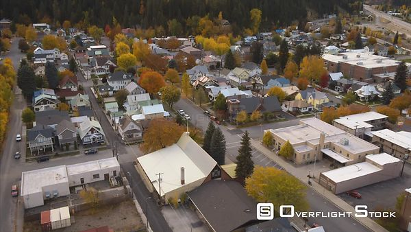 Small Town of Wallace Idaho