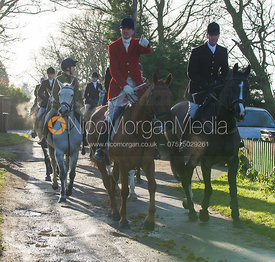 Ashley Bealby and Dean Andrews - The Quorn Hunt at Swan Lodge 16/12