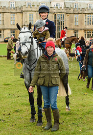 Gemma Redrup, Kerry Varley at Fitzwilliam Hunt Opening Meet 2018.