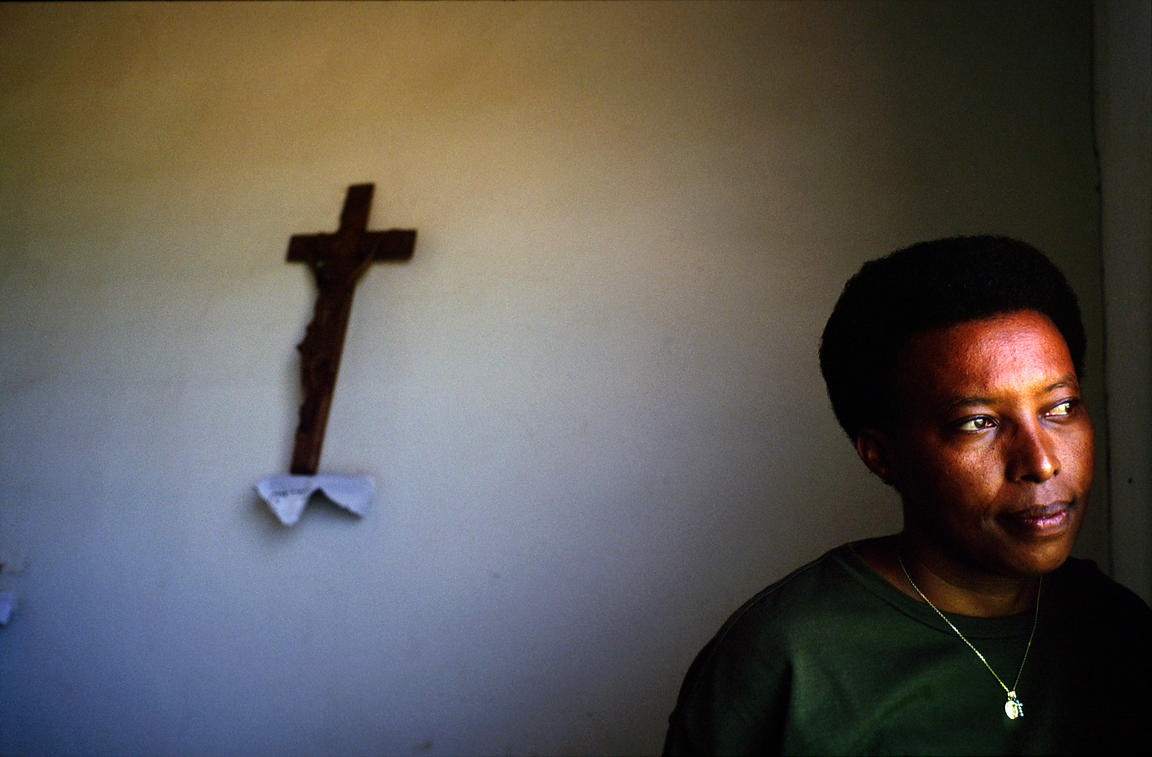 Burundi - Ruyigi - Marguerite Barankitse (known as the 'Angel of Burundi') in her office in the orphanage and home called Sha...