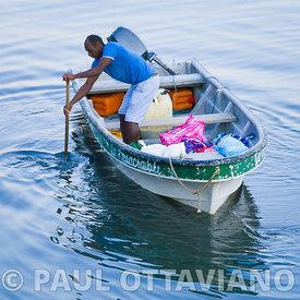 Fisherman Paddling | Paul Ottaviano Photography