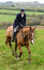 Meghan Healy At Newbold. The Cottesmore Hunt at Bleak House 18/12