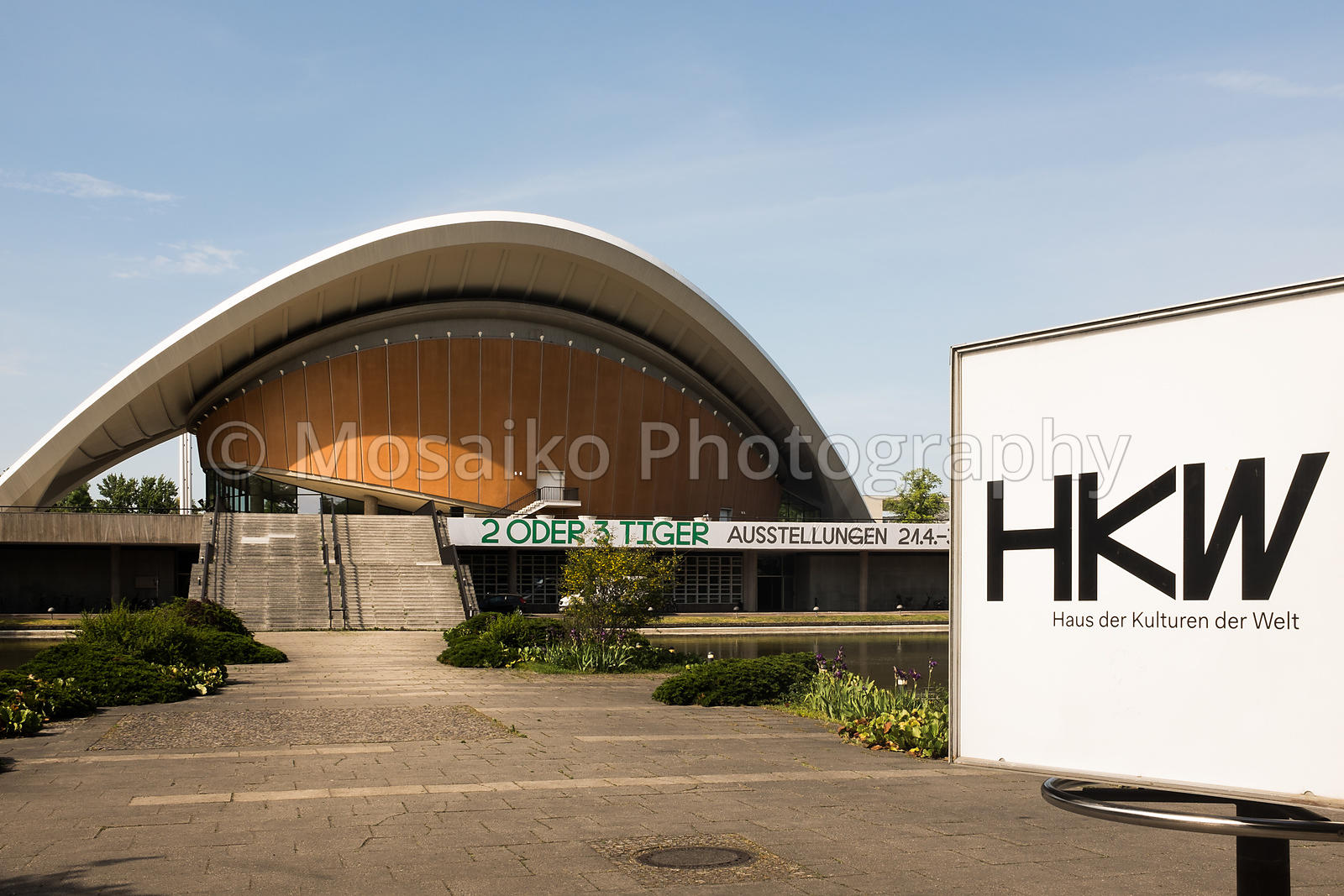 BERLIN, MAY 29TH: The Haus der Kulturen der Welt (HKW) (German for House of the World's Cultures) in Berlin on May 29th 2017.