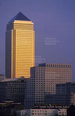 Canary Wharf Tower, Canary Wharf, Isle of Dogs, London