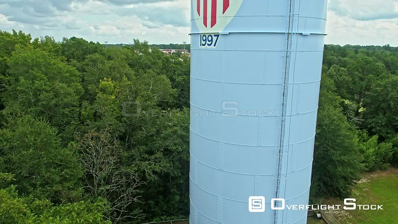 Water tower in Aiken, South Carolina, USA.