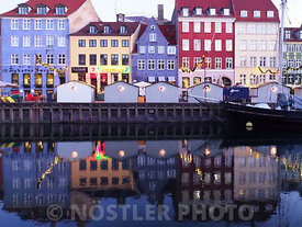 Christmas Market in Nyhavn