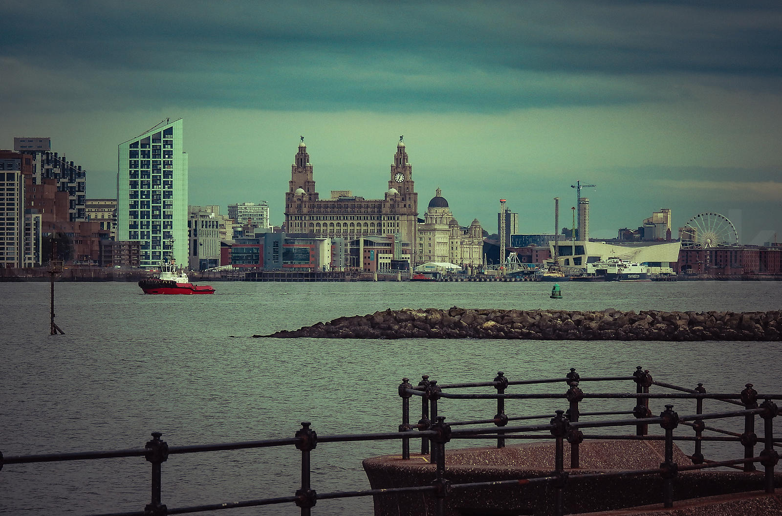 Pier Head, Liverpool (UK)