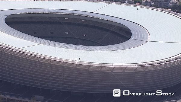 Aerial shot of Cape Town Stadium. Cape Town Western Cape South Africa