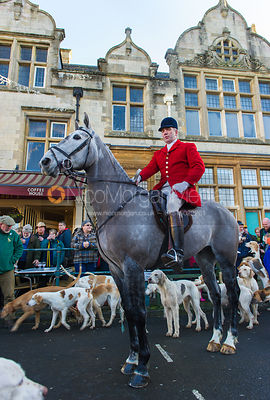 The Cottesmore Hunt at Uppingham 1/1