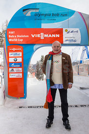 FIBT Bob World Cup 4Men 2015 in Olympia Bob Run in St. Moritz