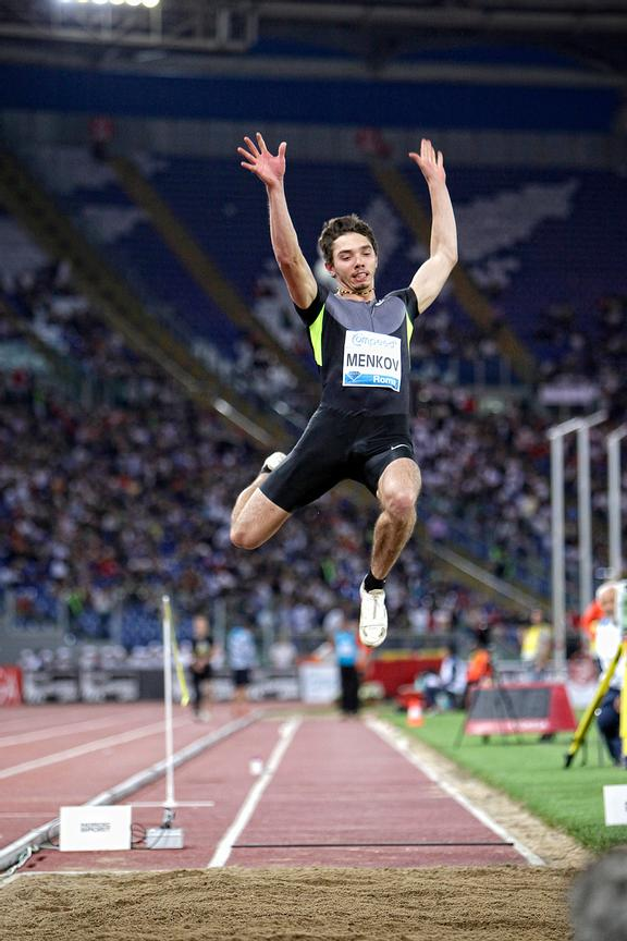 2012 Rome Golden Gala - Rome Diamond League,Long Jump, Aleksandr Menkov RUS